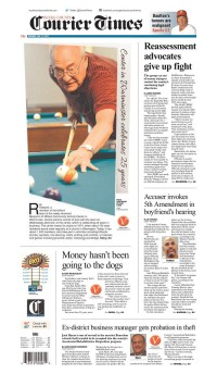 Newseum   Today's Front Pages   Bucks County Courier Times