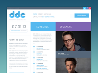 DDC Conference Website by Julien Renvoye