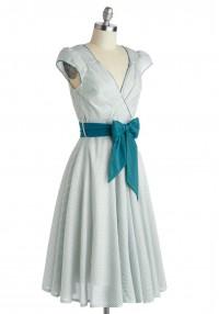 Have the Dance Floor Dress in Teal   Mod Retro Vintage Dresses   ModCloth.com