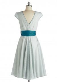 Have the Dance Floor Dress in Teal | Mod Retro Vintage Dresses | ModCloth.com