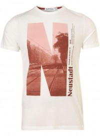 Off White Neustadt Print Crew Neck T-Shirt - Sale - Sale & Special Offers - TOPMAN