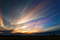 Wonderful smeared skies made from hundreds of stacked photos by Matt Molloy - Blog of Francesco Mugnai