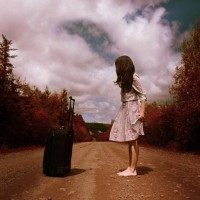 Photographer Creates Whimsical Self-Portraits About What Traveling Means To Her - DesignTAXI.com