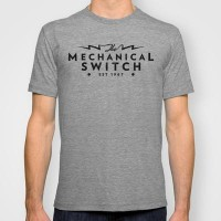 Mechanical Switch: Logo T-shirt by iamshawnmeek | Society6