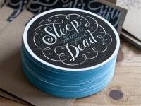 Sleep Coasters by 55 Hi's