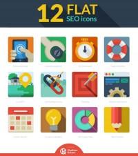 Free 12 Flat SEO icons - UnderWorld Magazines