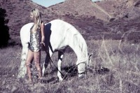 Monica Hansen With Horse