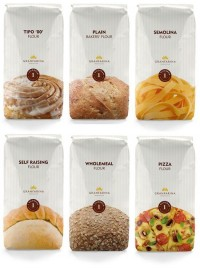 Granfarina Flour - The Dieline: The World's #1 Package Design Website -