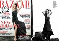 Harpers Bazaar : Nicole Trunfio