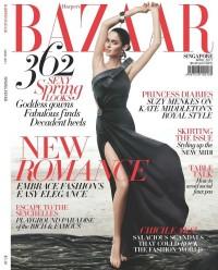 Harper's Bazaar Cover : Nicole Turnfio