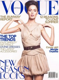 Vogue Cover Nicole Trunfio