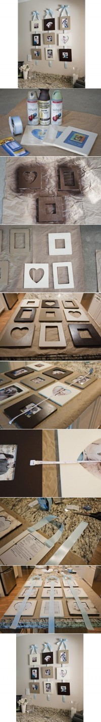 DIY Stylish Wall Photo Frame DIY Projects | UsefulDIY.com
