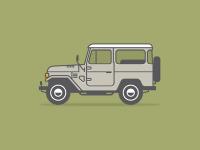 Land Cruiser by Jason Michael Green