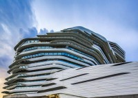 Innovation Tower at Hong Kong Polytechnic University by Zaha Hadid