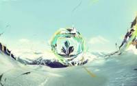 abstract mountains snow desktopography – Mountains Wallpaper – Computer Desktop Wallpapers