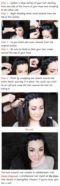 DIY A Side Braid Hairstyle DIY Fashion Tips | DIY Fashion Projects