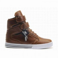 women shoes brown supra tk society high tops