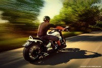 Riding Motorcycle On The Country Road - 54ka [photo blog]