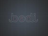 """b odi"" logo design structure by tie a tie"
