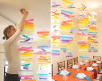 DIY : Colorful mobiles | C'est la fête!