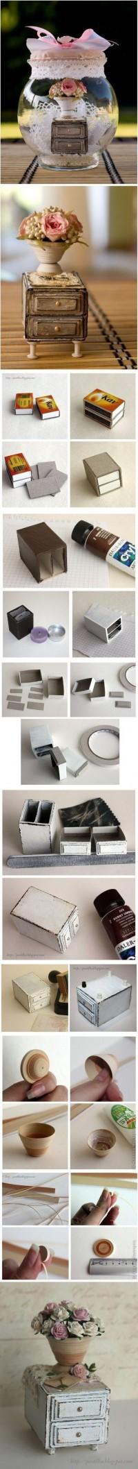 DIY Matchboxes Furniture DIY Projects | UsefulDIY.com