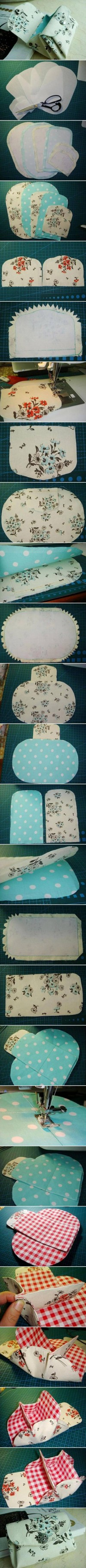 DIY Fabric Folding Purse DIY Projects | UsefulDIY.com