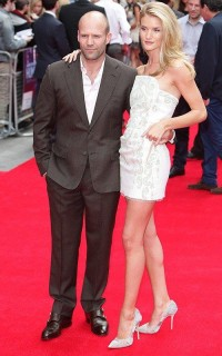 Rosie Huntington Whiteley with Jason Statham | Celebrity-gossip.net