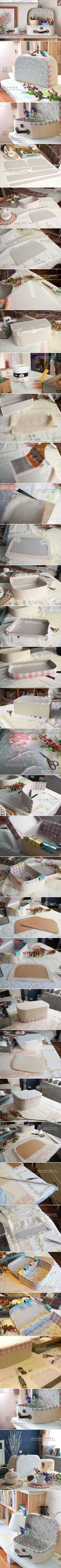 DIY Retro Cosmetic Case DIY Projects | UsefulDIY.com