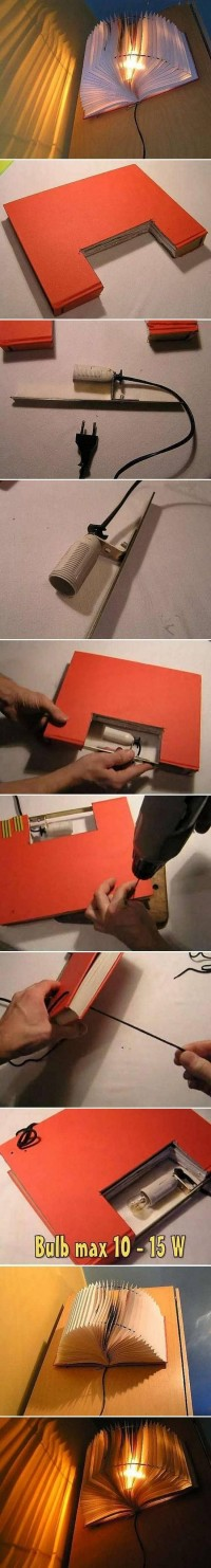 DIY Small Book Light DIY Projects | UsefulDIY.com