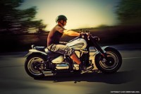 Motorcycle Man in Motion on The Road - 54ka [photo blog]