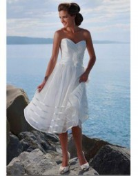 Tea Length Wedding Dresses Canada, 2013 Cheap Tea Length Wedding Dress