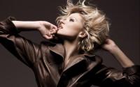 blondes models fashion jackets short hair looking up - Wallpaper (#2533305) / Wallbase.cc