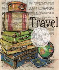 flying shoes art studio: TRAVEL WITH PASSPORT