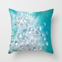 dandelion 3 Throw Pillow by Sylvia Cook Photography | Society6