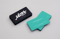 Mors Business Cards - Business Cards on Creattica: Your source for design inspiration