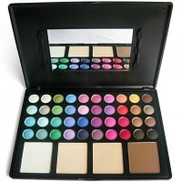 44 Colors Special New Complexion Makeup Palette (Eye Shadow & Powder Foundation) - makeupsuperdeal.com