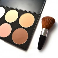 6 colors - Shading Powder with Brush - makeupsuperdeal.com
