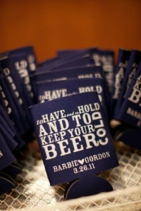 Wedding / Coozie idea