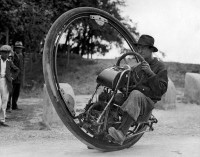 Eénwielige motorfiets / One wheel motor cycle | Flickr - Photo Sharing!