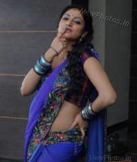 Hari Priya Hot in saree New Photos