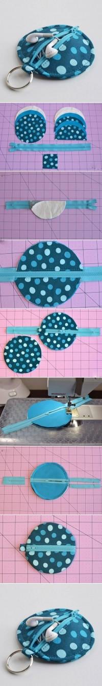 DIY Lovely Earphone Case DIY Projects | UsefulDIY.com
