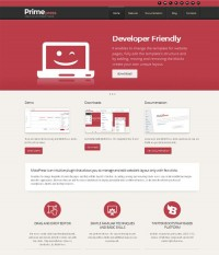 PrimePress - Free Premium WordPress Theme - CrazyLeaf Design Blog