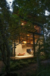 Treehouse architecture in Mexico | Designhunter - architecture & design blog