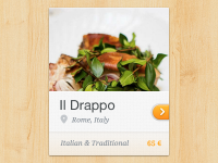 Restaurant Widget by Ionut Zamfir