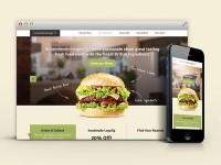 Responsive Burger by Morgan Jones