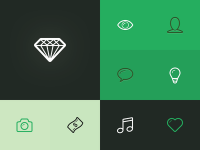 Linecons - 48 outline icons by Sergey Shmidt