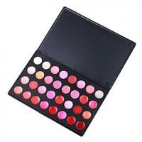 32 Colors Lipstick Gloss Palette - Finding Color - makeupsuperdeal.com
