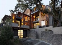Green Giant: Huge Sustainable Hill Home Feels Nice & Small   Designs & Ideas on Dornob