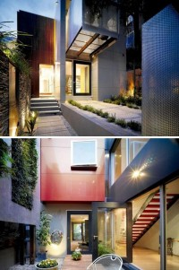 Single-Family City Home Marries Modernism with Greenery   Designs & Ideas on Dornob