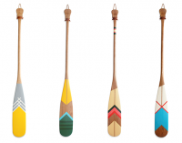 Design Work Life » Painted Canoe Paddles